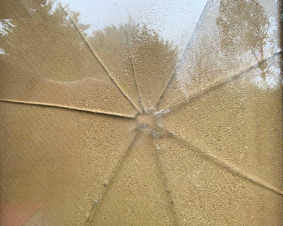 Broken window replacement for upvc